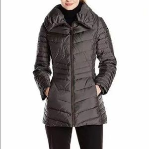 Marc NY Kirby Down Quilted Jacket Coat L Puffer
